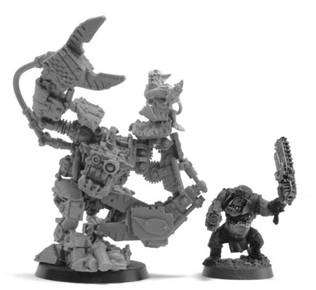 Forge World Runt Bot and Grot (Show Only)